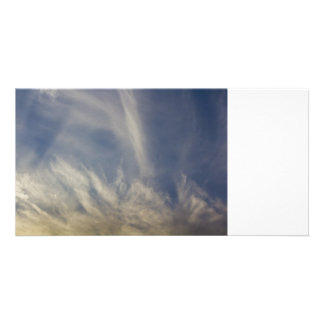 Angel Light Custom Photo Card