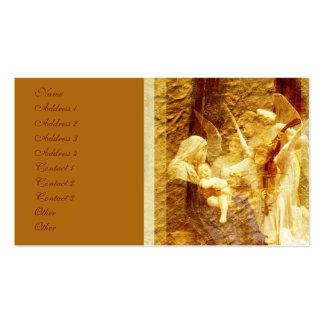 Angel Love Christmas Business Card Templates
