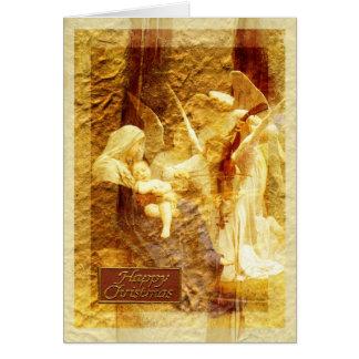 Angel Love Christmas Greeting Card
