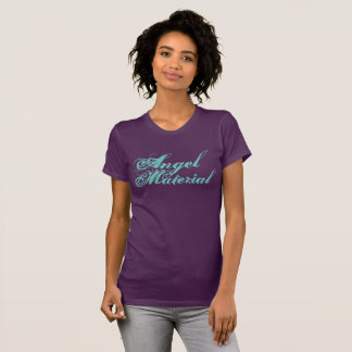 Angel Material with Wings T-Shirt
