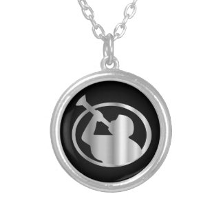 Angel Moroni- A symbol of Mormonism religion Silver Plated Necklace