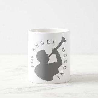 Angel Moroni Mug Grey
