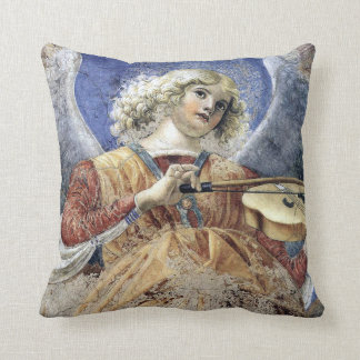 Angel Musician by Melozzo da Forli Print Pillows