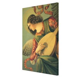 Angel Musician, Melozzo da Forli, Renaissance Art Canvas Print