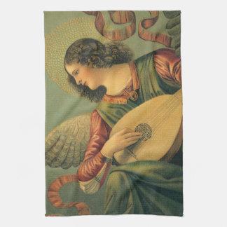Angel Musician, Melozzo da Forli, Renaissance Art Kitchen Towel