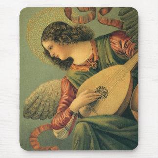 Angel Musician, Melozzo da Forli, Renaissance Art Mouse Pad