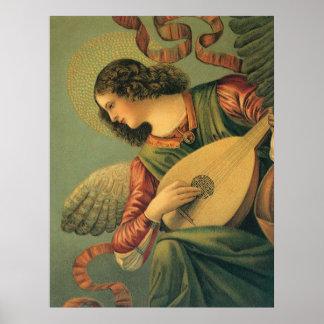 Angel Musician, Melozzo da Forli, Renaissance Art Poster