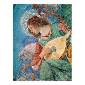Angel Musician Postcard