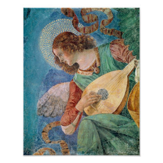 Angel Musician Poster