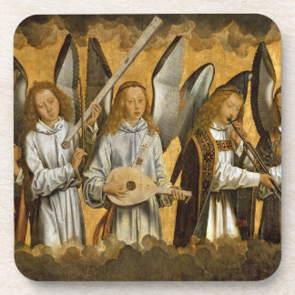Angel Musicians c1480 Beverage Coasters