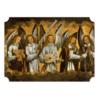 Angel Musicians c1480 Card