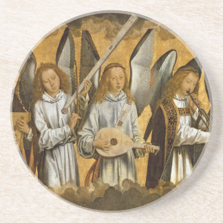 Angel Musicians c1480 Coaster