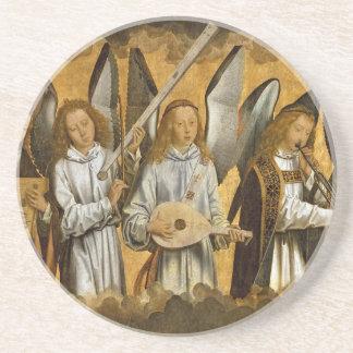 Angel Musicians c1480 Coasters