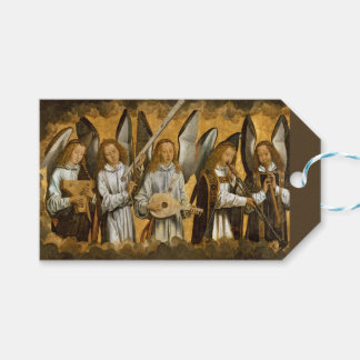 Angel Musicians c1480 Gift Tags