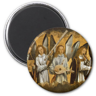 Angel Musicians c1480 Magnet