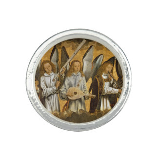 Angel Musicians c1480 Photo Rings