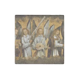 Angel Musicians c1480 Stone Magnets