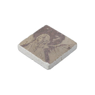 """Angel"" Natural Stone Magnet"