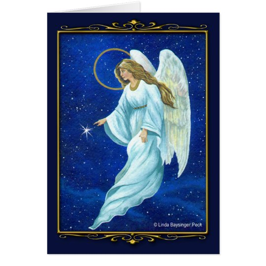 Angel Nocturne Card
