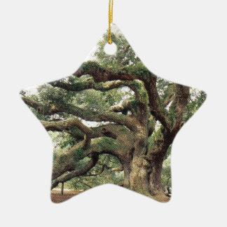 Angel Oak Tree 1,000 years old Ceramic Ornament