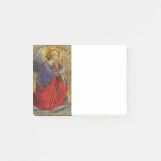 Angel of Annunciation by Fra Angelico Post-it Notes