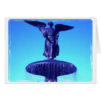 Angel of Bethesda sympathy card
