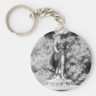 Angel of Central Park NYC. Keychain