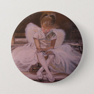 Angel of Dance 3 Inch Round Button
