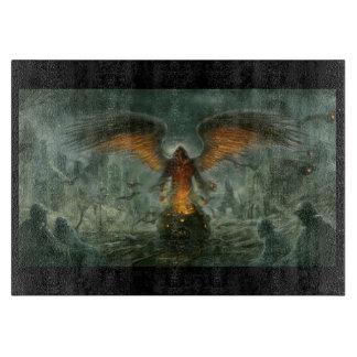 Angel of Death Cutting Board