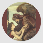 Angel of Death (detail) by Evelyn De Morgan Stickers