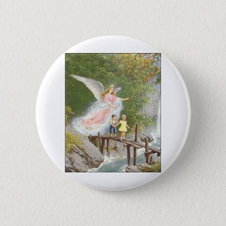 Angel of God my guardian dear! 2 Inch Round Button