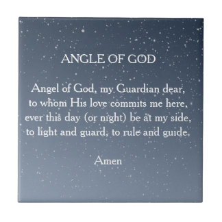 Angel of God Tile