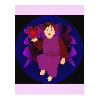 Angel Of Hearts I Custom Flyer