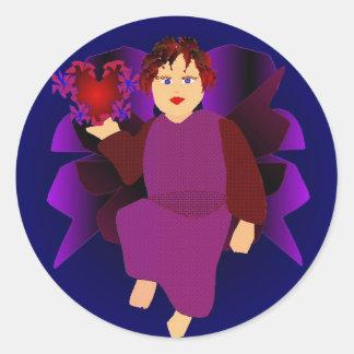 Angel Of Hearts Sticker
