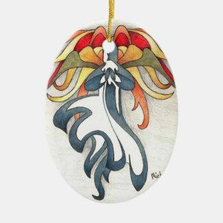 Angel of Hope Ceramic Ornament