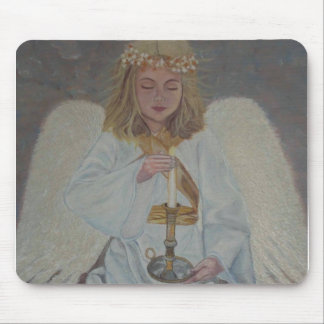 Angel of Light Mouse Pad