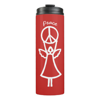 Angel of Peace Choose Color Thermal Tumbler