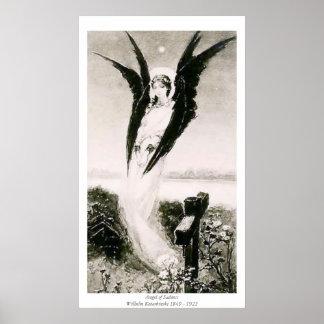 Angel of Sadness - Wilhelm Kotarbinski Poster