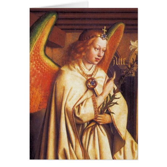 Angel of the Annunciation ,Archangel Gabriel Card