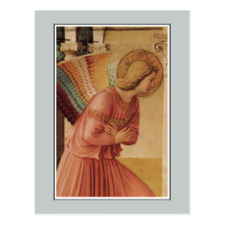 Angel of the Annunciation by Fra Angelico Postcard