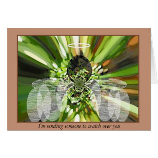 """Angel of the Gardens"" Greeting Card"