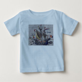 Angel of the High Seas Sailing Ship Baby T-Shirt
