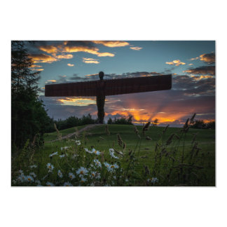 Angel Of The North Invitation