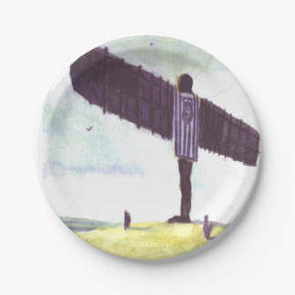 Angel of The North Paper plate