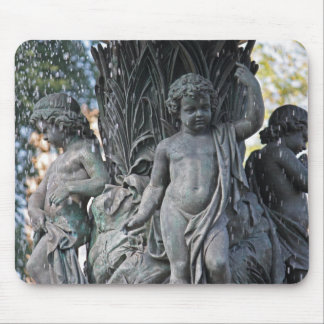Angel of the Waters Fountain, Central Park Mouse Pad