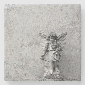 Angel on Stone/Marble Coaster Stone Beverage Coaster
