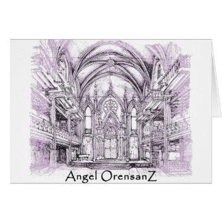 Angel Orensanz Card