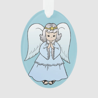 Angel Ornament - Oval
