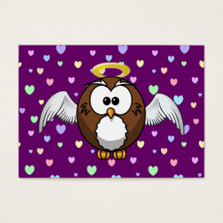angel owl business card