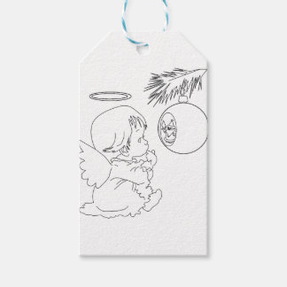 angel pack of gift tags